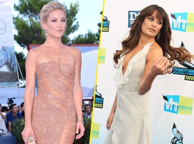 Kate Hudson exaspérée par l'attitude de Lea Michele ?