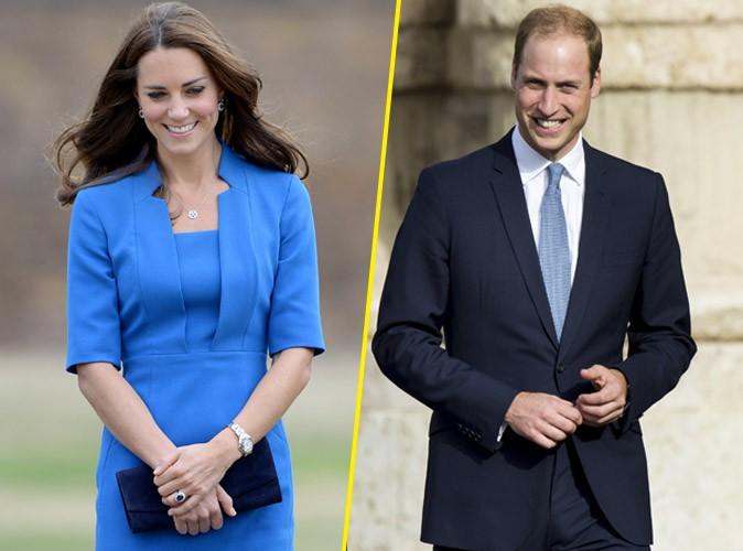 """Kate Middleton enceinte : le prince William soucieux : """"Elle est en petite forme""""…"""