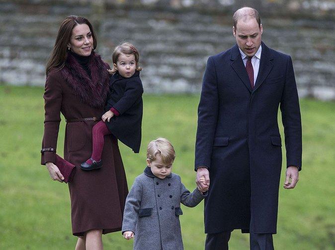 Kate Middleton et le Prince William : Leur carte de voeux est à croquer !