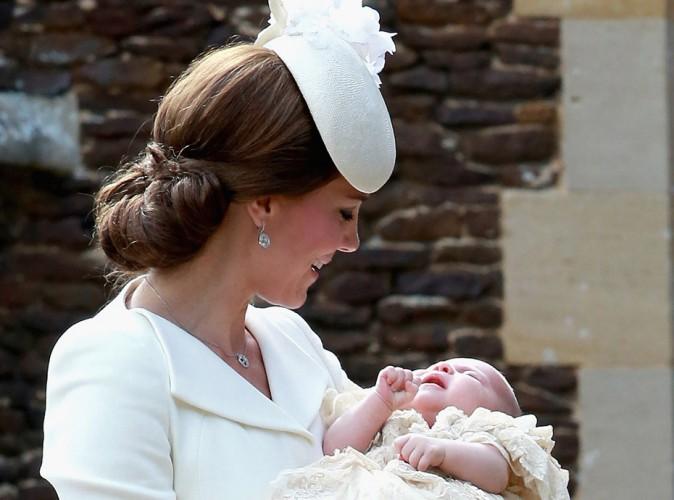 Kate Middleton : les premières photos volées de Charlotte publiées !
