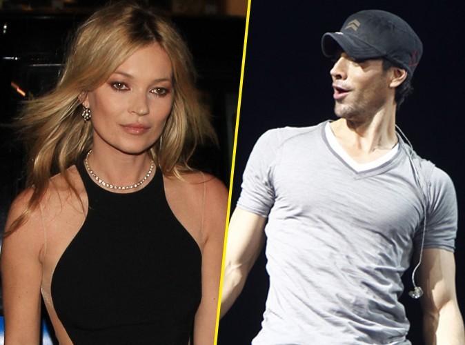 Kate Moss : elle repousse les avances d'Enrique Iglesias en lui jetant du pain dessus !