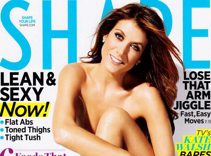 Kate Walsh : nue sur papier glacé, elle se trouve sexy !