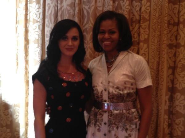 Katy Perry fête son anniversaire en compagnie de Michelle Obama !