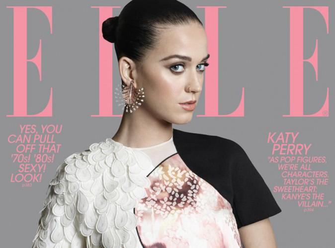 Katy Perry : splendide en couverture de ELLE, elle dit tout sur sa pr�pation pour le Super Bowl !