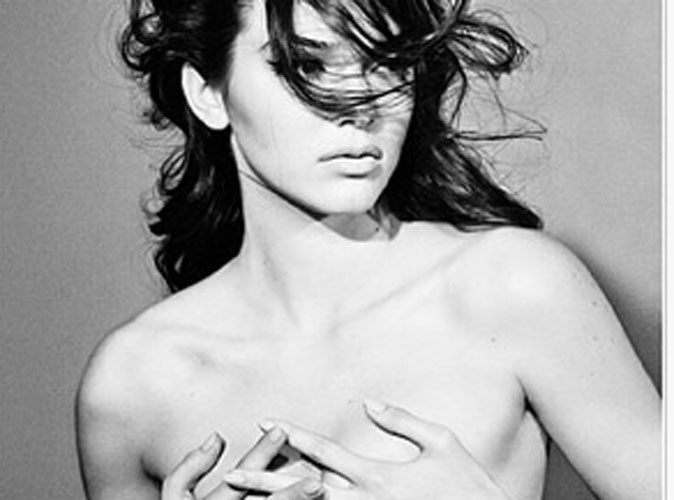 Kendall Jenner : elle pose topless pour le magazine Interview !