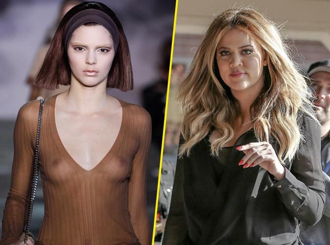 Khloé Kardashian : elle défend Kendall Jenner, attaquée pour avoir défiler avec un top transparent !