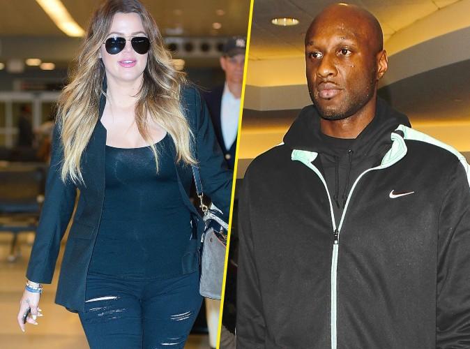 """Khloe Kardashian : son ex, Lamar Odom lui dit """"je t'aime"""" le jour de son anniversaire !"""