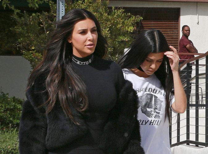 Kim Kardashian : Après la femme fière, la maman poule!