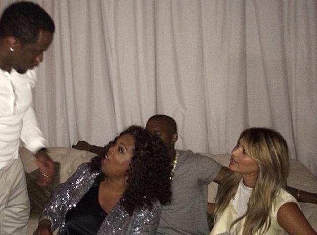 Kim Kardashian: copine comme cochon avec Oprah Winfrey !