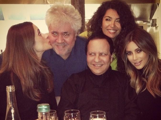 Kim Kardashian : de Pedro Almodovar à Franca Sozzani, elle sait s'entourer des plus grands !