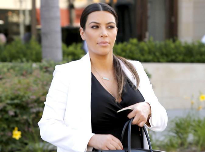 kim kardashian elle a d j perdu beaucoup de kilos de sa grossesse. Black Bedroom Furniture Sets. Home Design Ideas