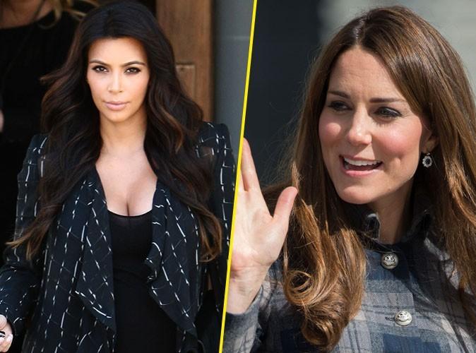 Kim Kardashian : elle a envoyé une lettre et un cadeau à Kate Middleton !