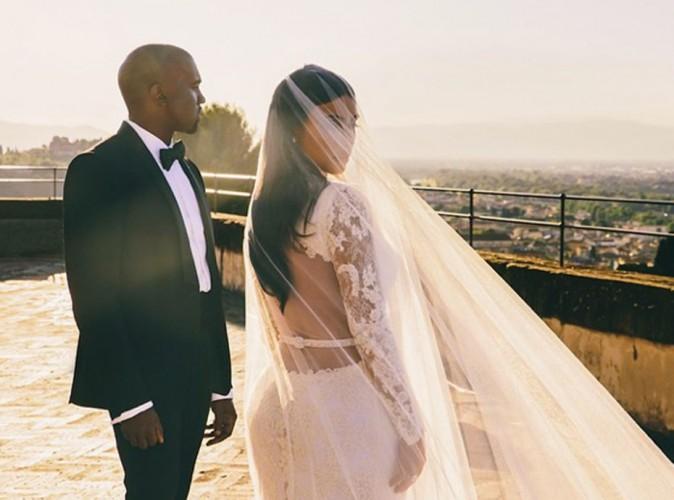 Kim Kardashian : elle dévoile une nouvelle photo de son mariage et un extrait d'Awesome, le nouveau single de Kanye West !
