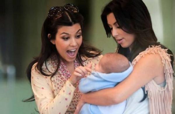 Kim Kardashian : elle fait le buzz autour d'une prétendue photo de son bébé !
