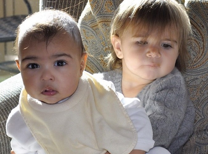 Kim Kardashian : elle publie une nouvelle photo de North avec sa cousine Penelope !