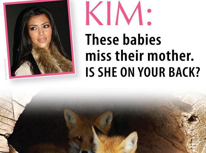 Kim Kardashian : elle s'attire les foudres de la Peta !