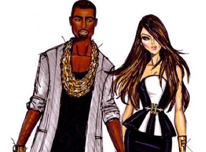 Kim Kardashian : elle se fait croquer avec Kanye !