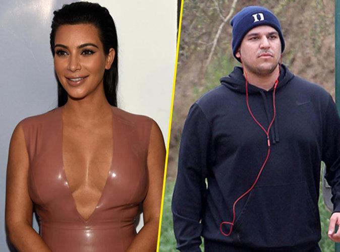 Kim Kardashian : elle se moque du poids de son frère Rob Kardashian !