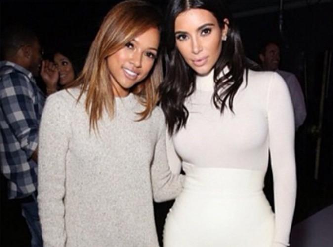 Kim Kardashian : elle snobe Karrueche Tran, Kanye West s'en mêle !
