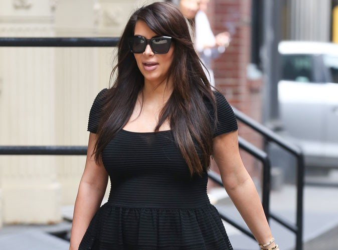 Kim Kardashian : elle veut accoucher le plus vite possible !