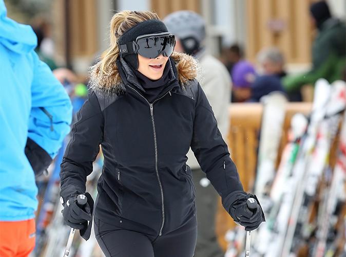 Kim Kardashian : finalement, elle n'est pas si mauvaise à skis !