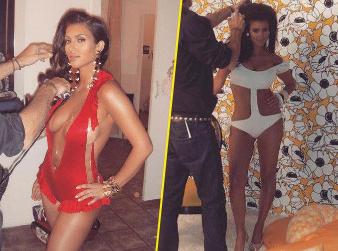 Kim Kardashian : jeune maman, elle rêve de retrouver son corps d'antan !