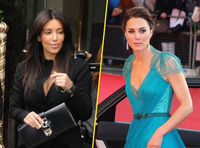 Kim Kardashian : Kanye West veut qu'elle s'inspire de Kate Middleton !