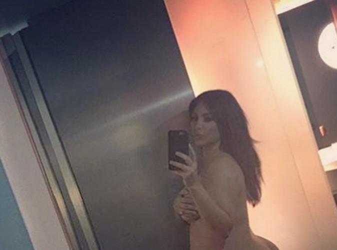 Kim Kardashian : lassée des critiques sur son poids et sa grossesse, elle pose (encore) complètement nue !