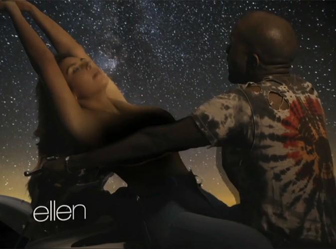 Kim Kardashian : nue et dans des positions très suggestives pour Bound 2, le nouveau clip de Kanye West !