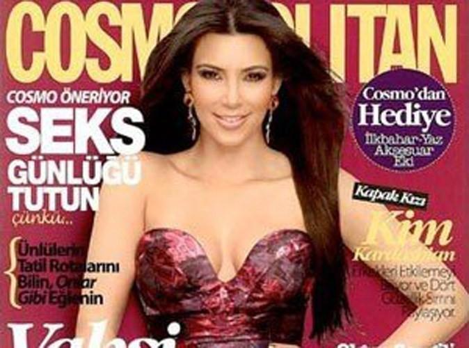 Kim Kardashian pas du tout contente d'être en couv' du Cosmo turc !