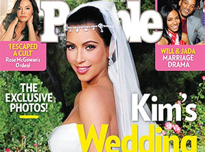 """Kim Kardashian : première interview suite à son mariage : """"Je me suis sentie comme une princesse !"""""""