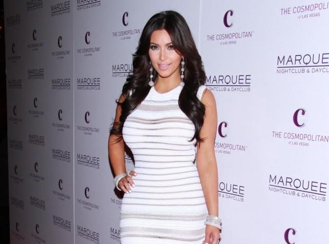Kim Kardashian : sexy et amoureuse, elle a fêté son anniversaire à Las Vegas !