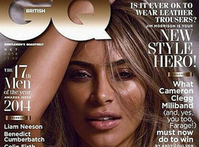 Kim Kardashian : sexy et topless pour GQ, qui l'a élue femme de l'année !