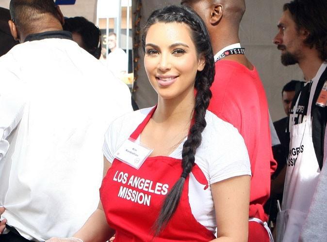 Kim Kardashian : une fin d'année placée sous le signe de la charité !