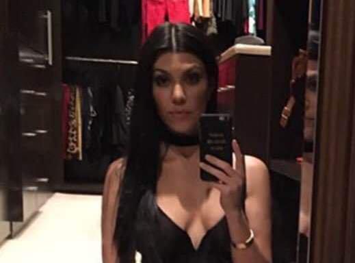 Kourtney Kardashian: elle dévoile un cliché sexy sur Instagram
