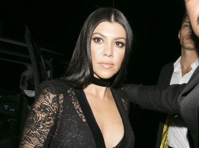 """Kourtney Kardashian : """"elle ne tolérera"""" pas la rechute de Scott Disick!"""