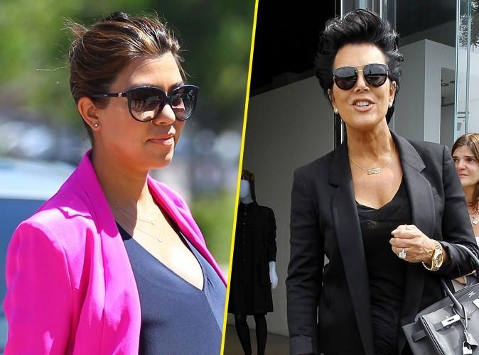 Kourtney Kardashian : elle refuse que sa mère fasse de l'argent sur le dos de Penelope !