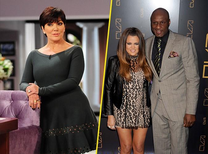 Kris Jenner : elle conseille à Khloe Kardashian et Lamar Odom de ne pas divorcer !