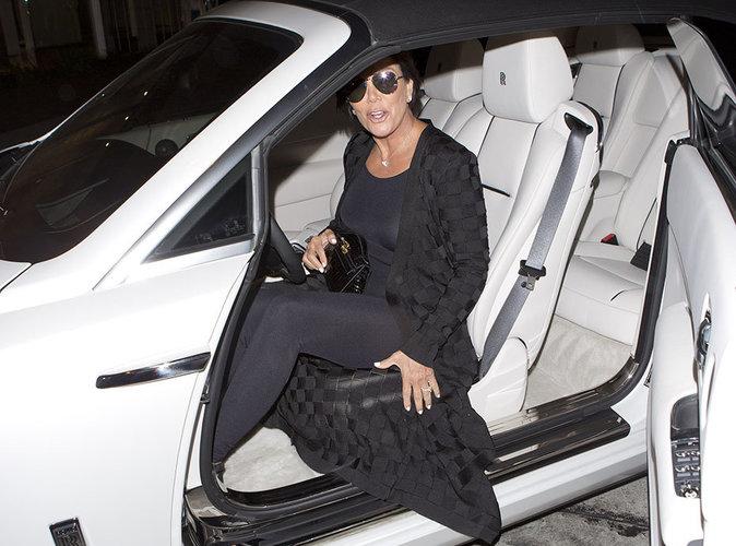 Kris Jenner impliquée dans un très violent accident de voiture...