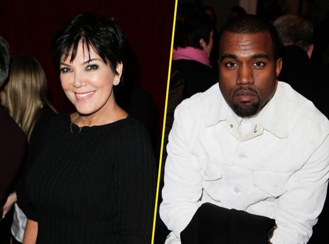 Kris Jenner : la mère de Kim Kardashian veut manager Kanye West !