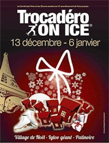 Trocadero on Ice aux jardins du Trocadéro, Paris 16e