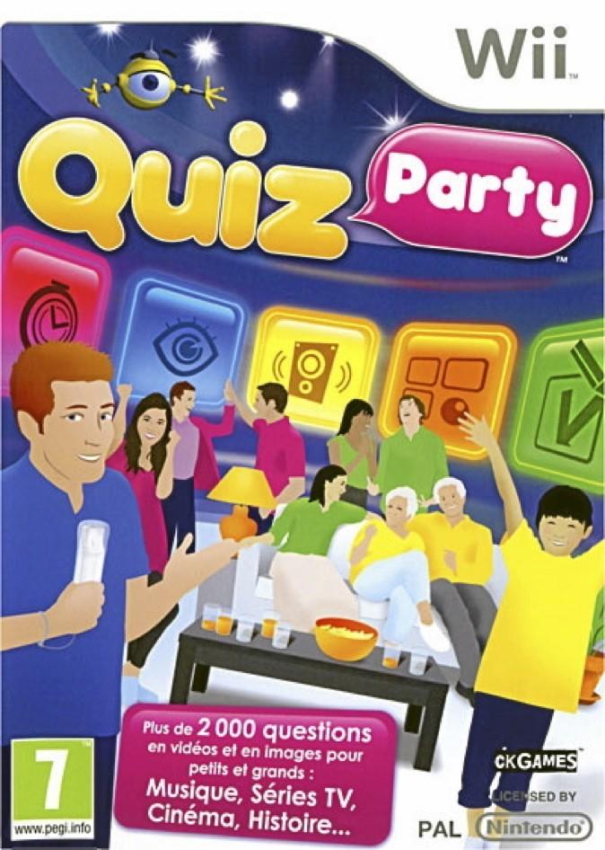 Quiz Party, Nintendo Wii. 35 €.