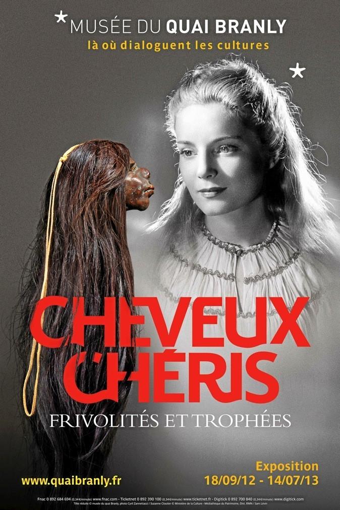 Cheveux chéris, au Musée du quai Branly retrace l'histoire la coif ure des origines à nos jours.