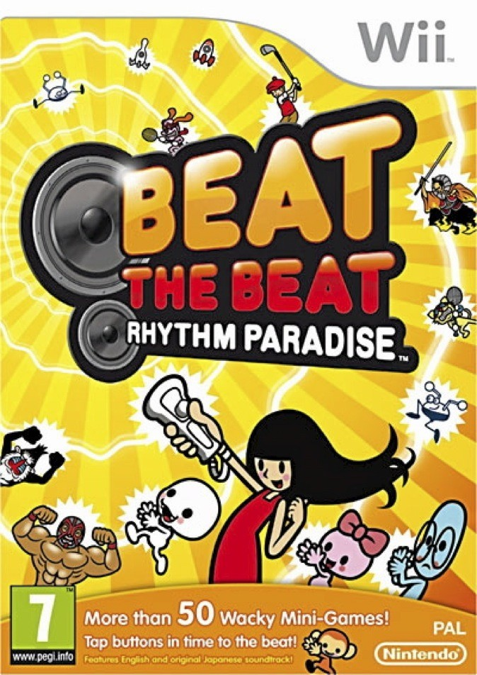 Beat the Beat - Rhythm Paradise, Nintendo Wii. 37 €.