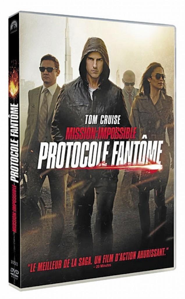 Mission : impossible. Protocole Fantôme, Paramount. 16,99 €.