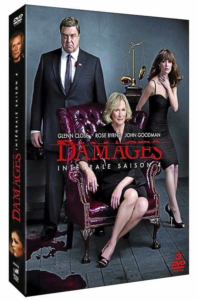 Damages, saison 4, Sony. 29,99 €