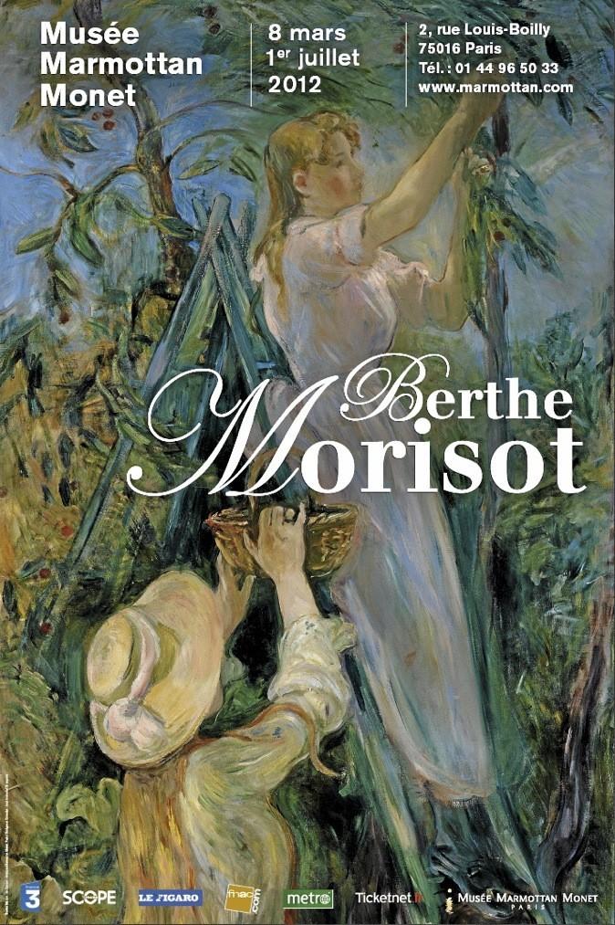 Berthe Morisot, Musée Marmottan jusqu'au 1er juillet. 2, rue Louis-Boilly, Paris 16e. Tarif étudiant : 6,70 €.