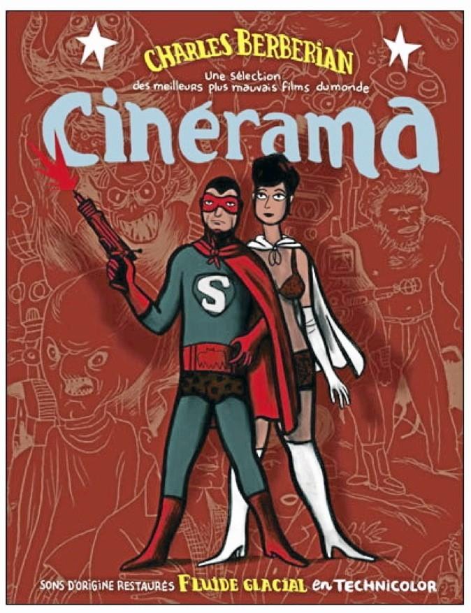 """Public vous propose la BD """"Cinérama, les meilleurs plus mauvais films"""". Ed Fluide Glacial. 16€"""