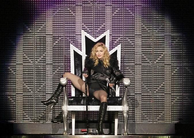 Madonna lors d'un concert !