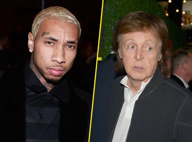 L'ex-Beatle, Paul McCartney, recalé d'une soirée : Tyga s'excuse !